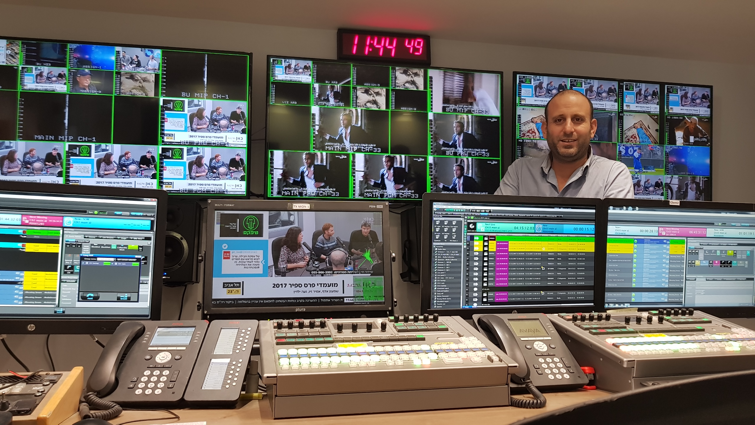 Pebble Beach Systems Marina Chosen For New Israeli Public Broadcaster