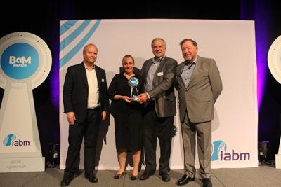 IABM Award winner - Sachtler and vinten