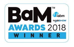 IABM BaM Awards Winner