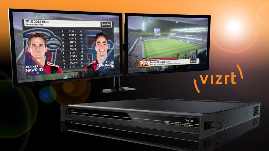 NVG1 NewTek-Vizrt IP Graphics Server - IABM