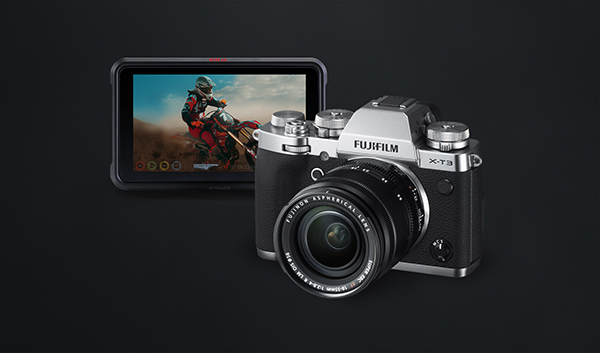 Fujifilm X-T3 combined with Atomos Ninja V offers affordable Cinema