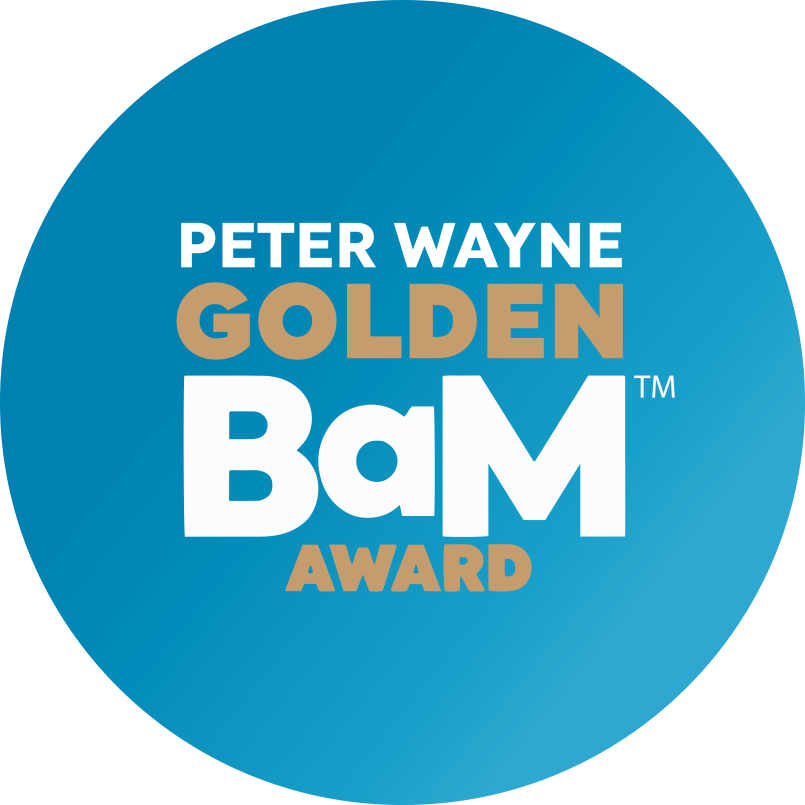 IABM Peter Wayne Golden BaM Award