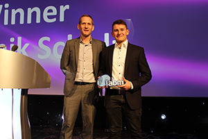 IABM Young Person of the Year - Dominik Schulz width=