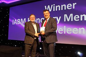 IABM 2018 Honorary Member - Jan Eveleens