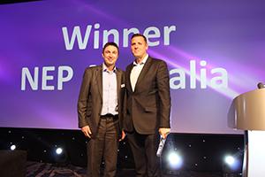 IABM Broadcast and Media Company of the year - NEP Australia