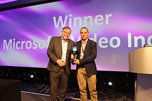IABM Peter Wayne Golden BaM Award Winner - Microsoft Video Indexer