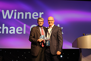 IABM Technology Leader of the Year - Mike Cronk