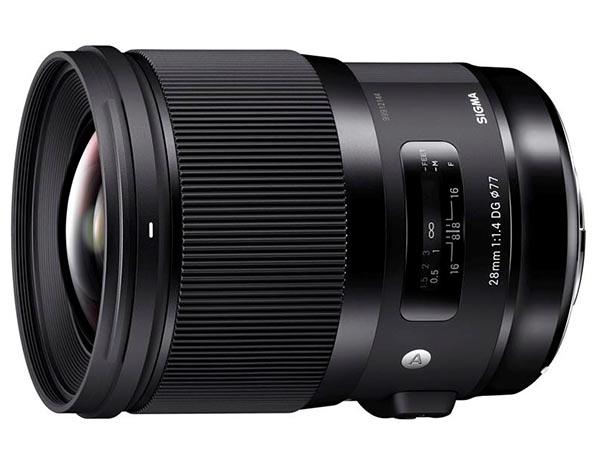 28mm f1.4 art lens
