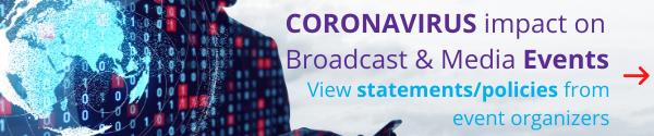 IABM Coronavirus Statement banner