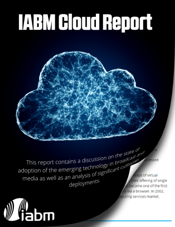 IABM Cloud Report