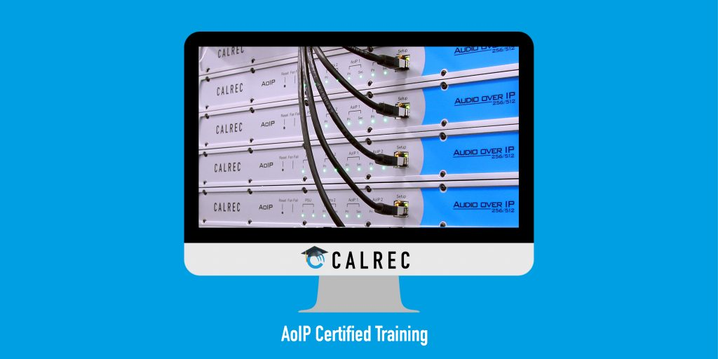 Calrec AoIP Training